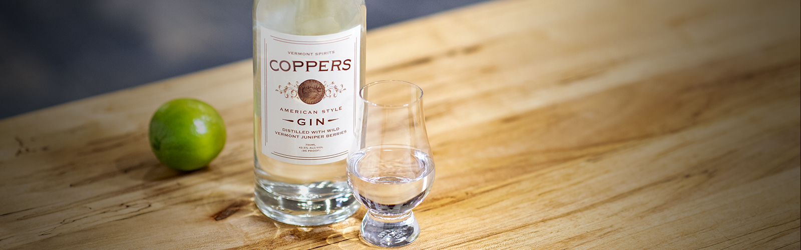 coppers gin handcrafted vermont spirits distillery