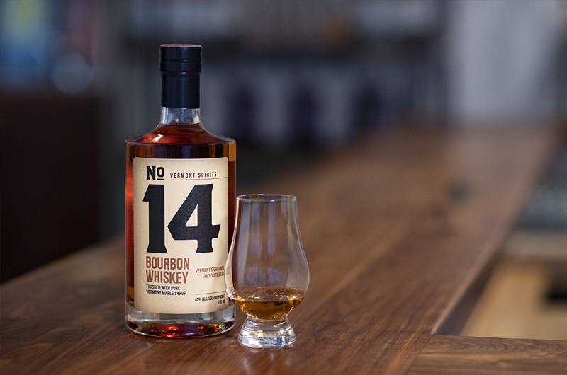 No. 14 Bourbon unites two American Classics … Bourbon Whiskey and Vermont Maple Syrup.